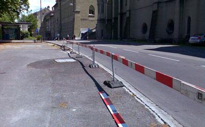 Umgebung: Seit Monaten siehts hier gleich aus - nichts passiert (Juli 2008)