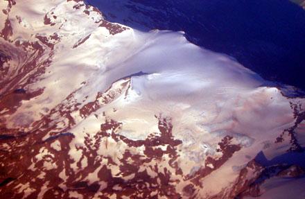 La Grand Motte im Vanoise-Massiv, mit Sahara-Schnee, 10. Juli 2008