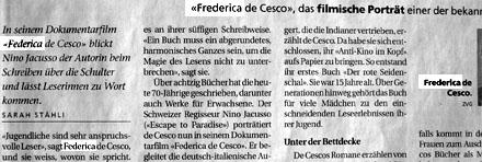 Federica oder Frederica? - Aus dem BUND, März 2008