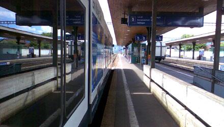 Bahnhof Lenzburg, August 2008