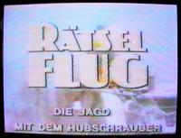 Rätselflug, ARD 1982
