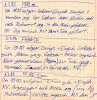 Tagebuch Juli 1983 - Klicken für Vergrösserung