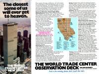 Prospekt World Trade Center 1982 - klicken für grössere Fassung