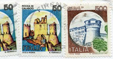 Post für die Freundin, aufgegeben am 21. Oktober 1988 in Florenz